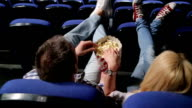 popcorn in cinema video
