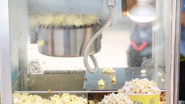 Popcorn making. video