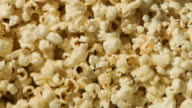 Popcorn on white video