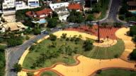 Pope's Square  - Aerial View - Minas Gerais, Belo Horizonte, Brazil video
