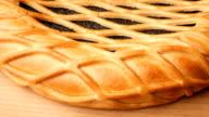 Poppy seed pie. Rotation. video