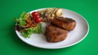 pork chop steak video