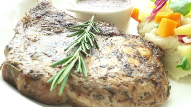 Pork chop video