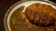 Pork curry rice video