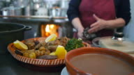 Pork meat dish video