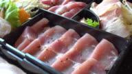 Pork meat video