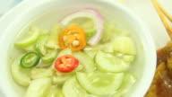 pork satay : asian food video