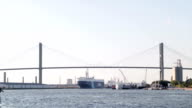 Port of Savannah, Georgia, USA video