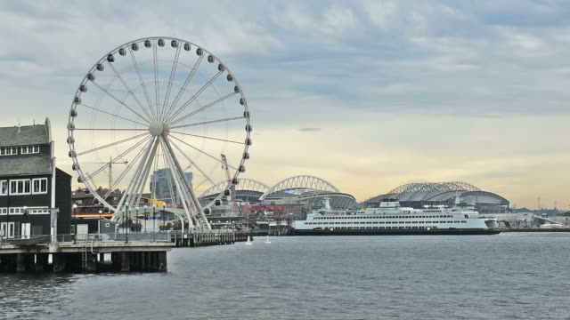 Port of Seattle in Seattle video