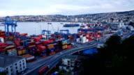 Port of Valparaiso Timelapse video