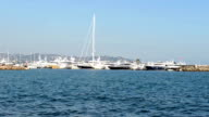 Port of yacht video