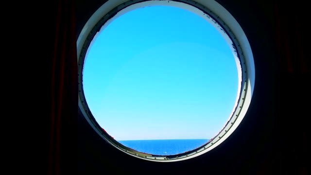 Porthole of the Ocean Liner video