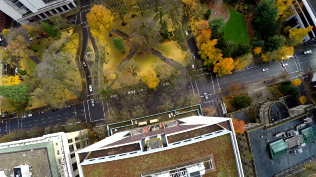 Portland Aerial Downtown video