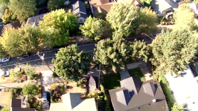 Portland Aerial Neighborhood video