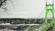 Portland Bridges Pan video
