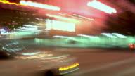 Portland City Driving 4 Night Angle View video