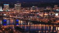 Portland Cityscape Time Lapse Bridges video