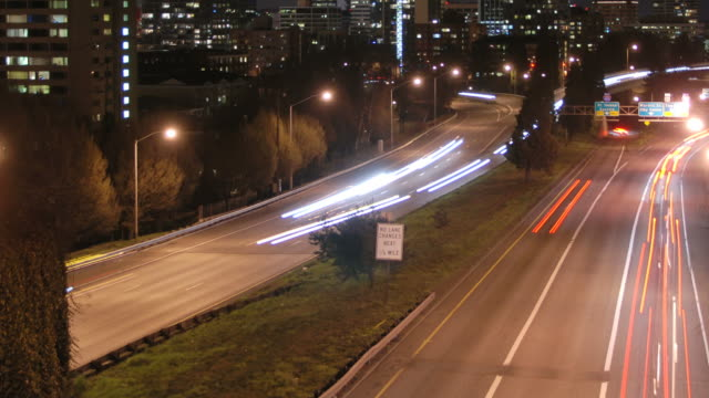 Portland Cityscape Time Lapse Highway 26 Zoom video