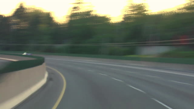 Portland Highway Driving 17 Sunset video