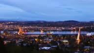 Portland Night Pan video
