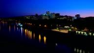 Portland Night Waterfront video
