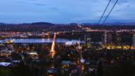 Portland Night Zoom video