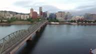 Portland, Oregon Skyline View video
