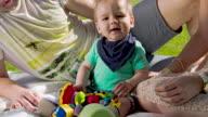 MS Portrait Of A Baby Boy video