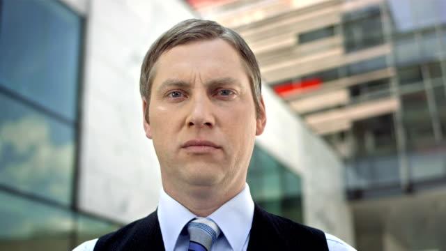 HD: Portrait Of A Businessman video