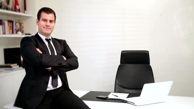 Portrait of a Businessman video