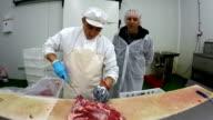 Portrait of a Butcher video