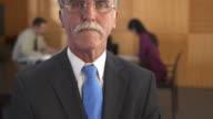 HD: Portrait Of A Senior Businessman video