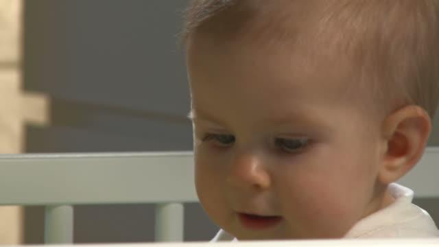 HD: Portrait Of A Sleepless Baby video