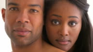 Portrait of African couple video
