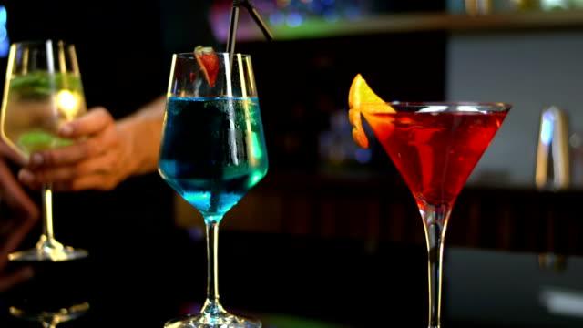 HD DOLLY: Portrait Of Bartender video