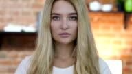 Portrait of Beautiful Girl video
