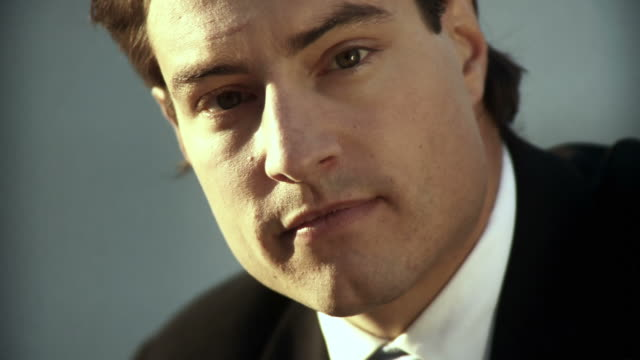 HD: Portrait Of Businessman video