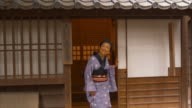 Portrait of Edo Period Woman (normal speed) video