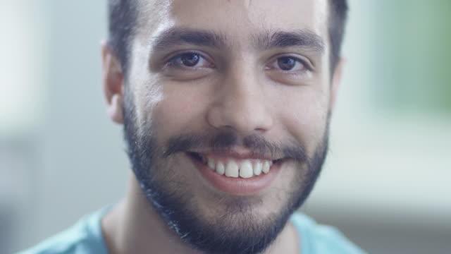 Portrait of Hispanic Ethnicity Smiling Man video