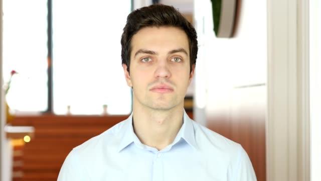 Portrait of Man, Indoor video