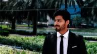 Portrait of Middle Eastern Businessman video
