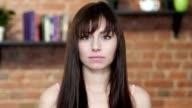 Portrait Of Young Woman, Indoor video
