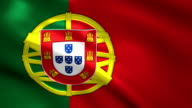 Portugal charming flag video