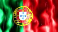 Portugal Flag Animation video