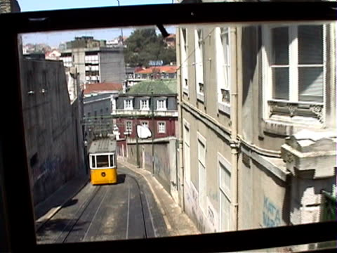 Portugal: Lisbon Cable Car / Funicular video