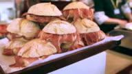 Portuguese serrano ham video