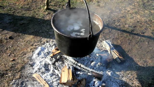 Pot Over Fire video