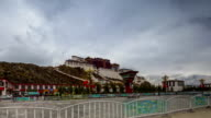 Potala Palace HD Timelapse. Lhasa. Tibet. China video