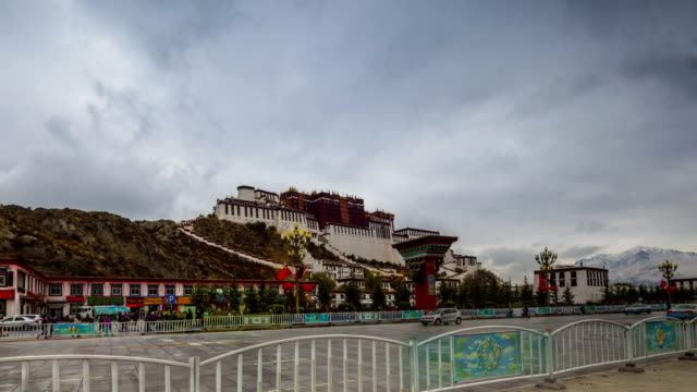 Potala Palace HD Timelapse. Lhasa. Tibet. China video