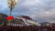 Potala palace in Lhasa, Tibet,Dolly Shot. video
